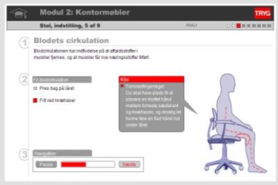 screen dump fra tryg hjemmeside